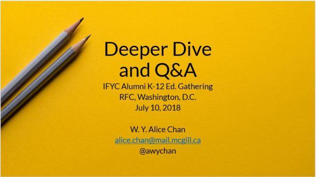 IFYC and RFC